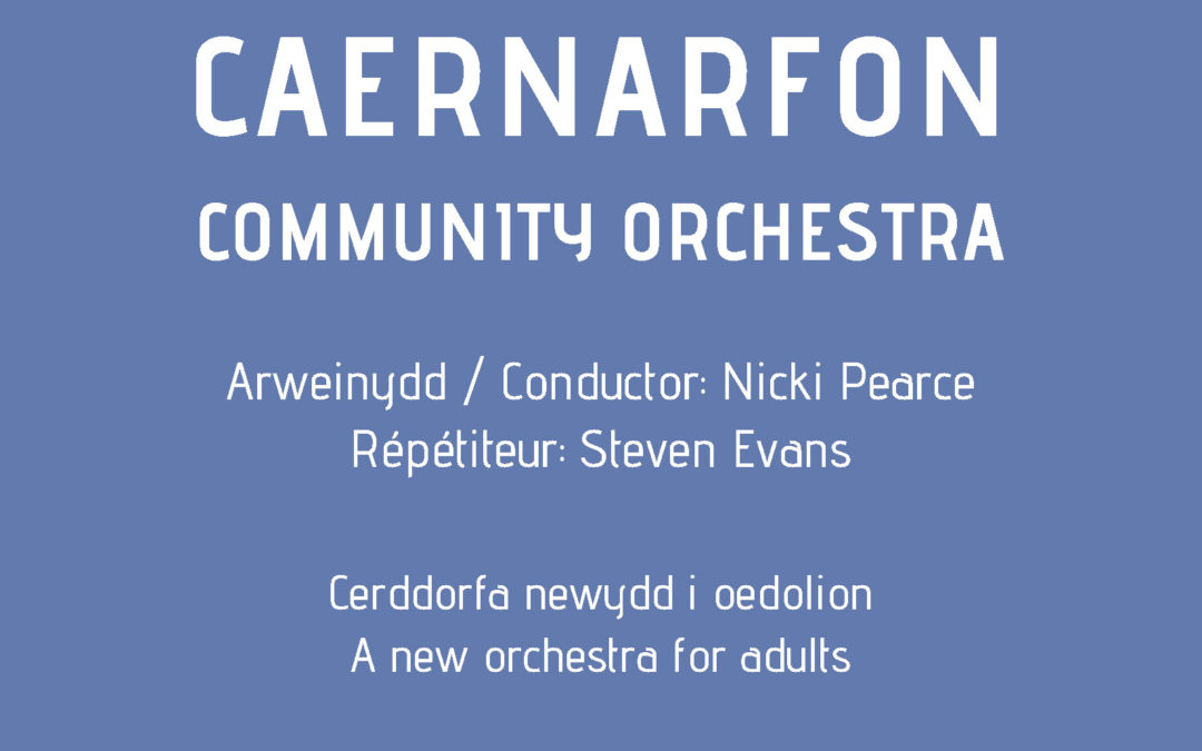 Establishing the Caernarfon Community Orchestra