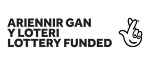 Ariennir gan Y Loteri /. Lottery Funded