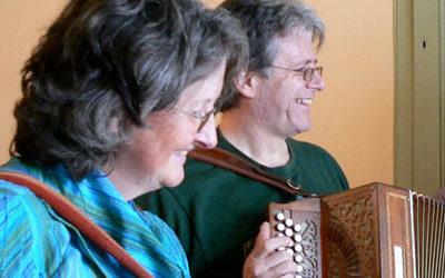 Cyngerdd Neil a Meg Browning